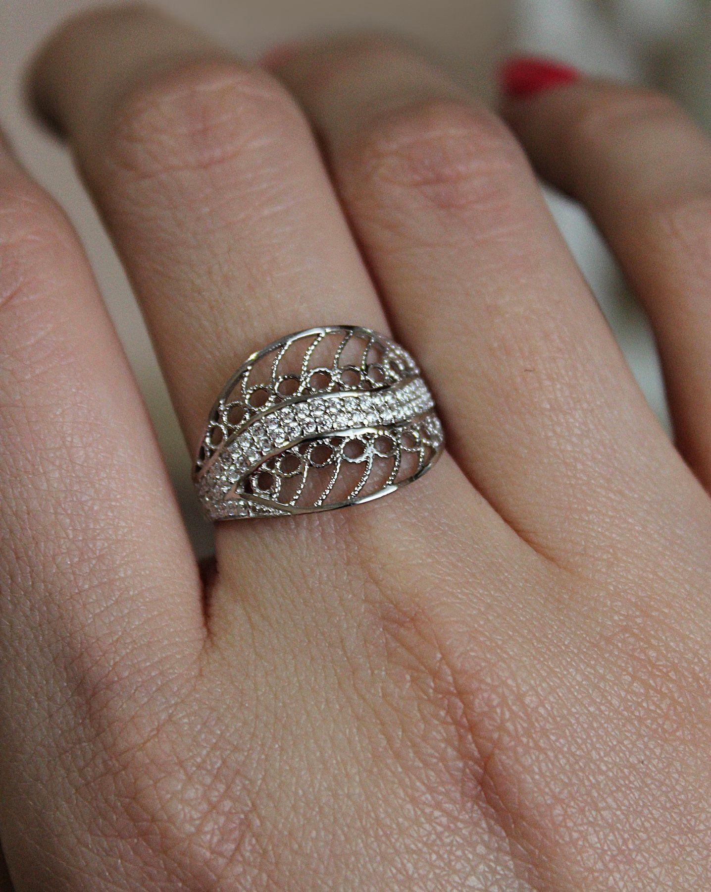 фото серебряного кольца и обычного легко сможете