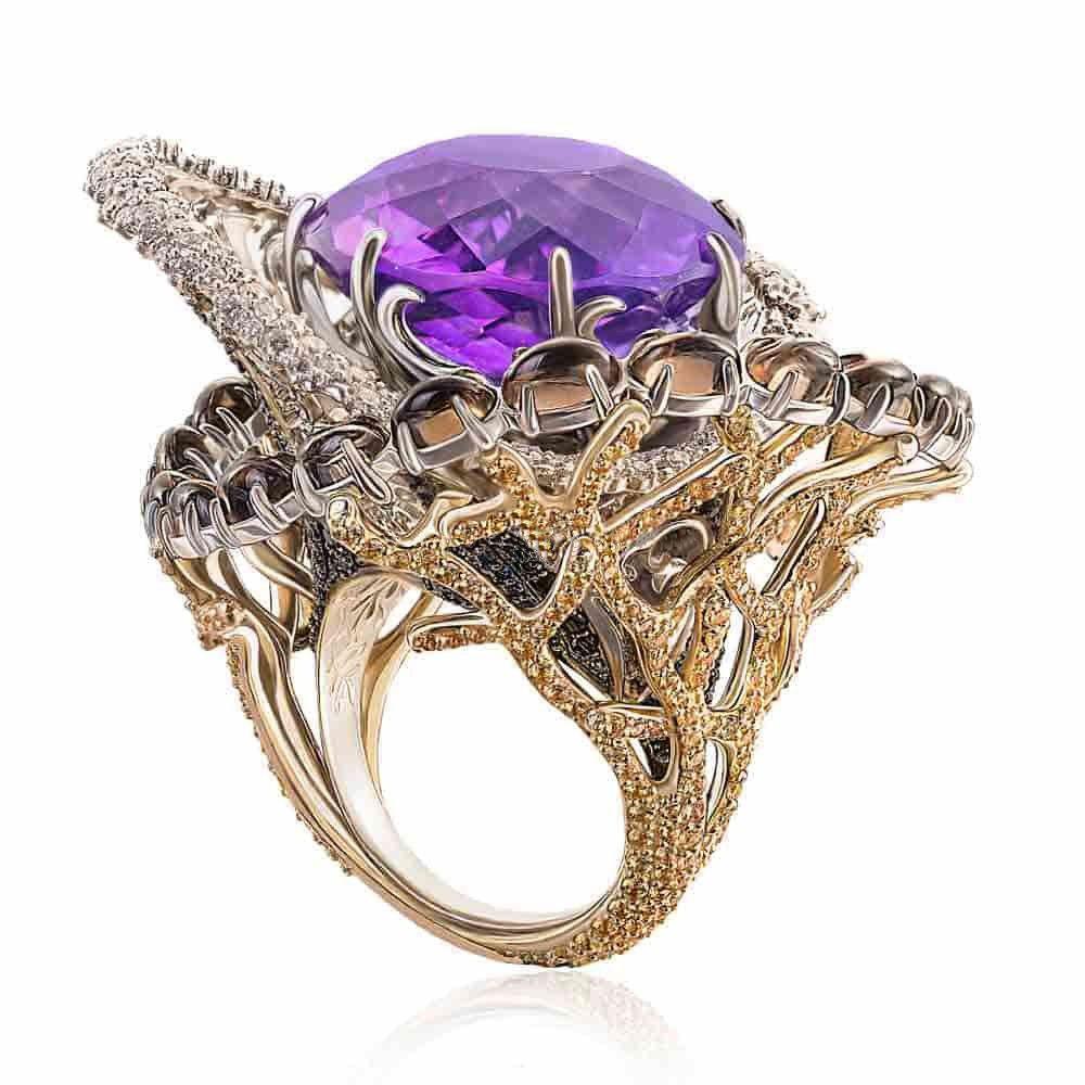 Купити золоті каблучки в ювелірному інтернет магазині VOS Jewelry 901927cff4e83